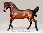 Arabian Horse Sculpture