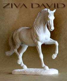 Warmblood Horse Sculpture
